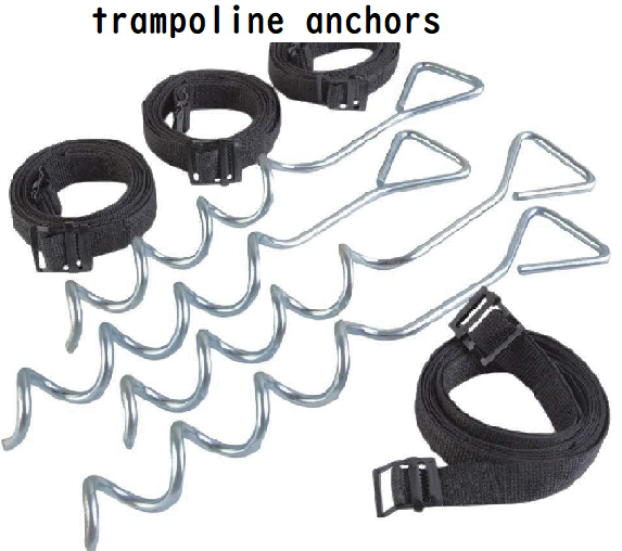trampoline anchors