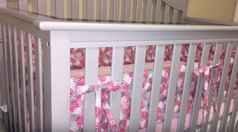 how to make bumper pads for baby crib