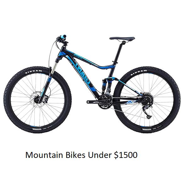 Mountain Bikes Under $1500