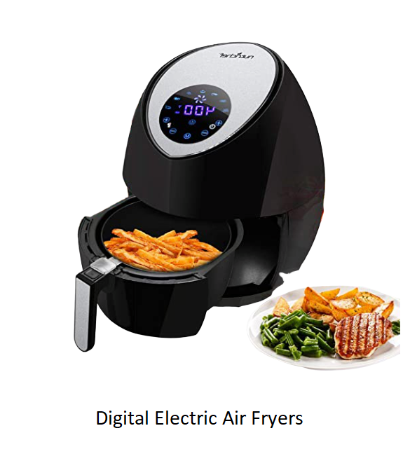 Digital Electric Air Fryers